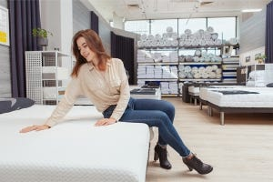 What is the process of buying a good bed?