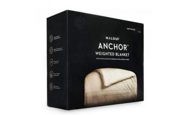 Malouf Fine Linens 12 lb. Weighted Blanket