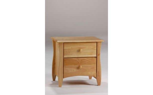 Pacific Mfg Spices Bedroom Clove 2-Drawer Nightstand