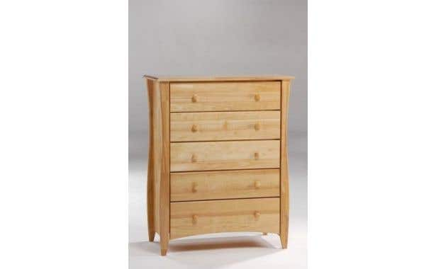 Pacific Mfg Spices Bedroom Clove 5-Drawer Chest
